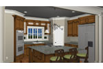 Colonial Floor Plan Kitchen Photo 01 - 028D-0007 | House Plans and More