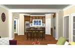 Colonial Floor Plan Kitchen Photo 03 - 028D-0007 | House Plans and More