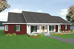 Spacious Country Home With Acadian Impressions