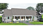 Country House Plan Front Photo 01 - 028D-0012 | House Plans and More