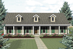 Acadian Home With Additional Cape Cod/New England Style