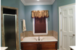 Colonial Floor Plan Bathroom Photo 02 - 028D-0018 | House Plans and More