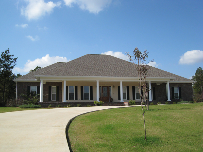 Southern House Plan Front Photo 01 - 028D-0018 | House Plans and More
