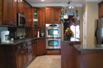Colonial Floor Plan Kitchen Photo 04 - 028D-0018 | House Plans and More