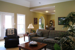 Colonial Floor Plan Living Room Photo 03 - 028D-0018 | House Plans and More