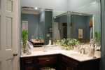 Colonial Floor Plan Master Bathroom Photo 01 - 028D-0018 | House Plans and More