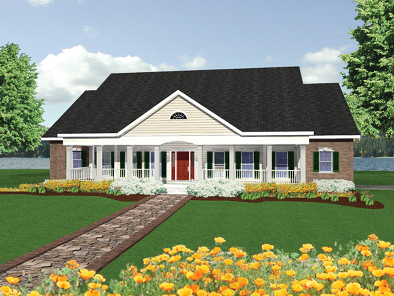 Well-Designed Plan With Grand Front Porch