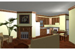 Vacation Home Plan Kitchen Photo 01 - 028D-0023 | House Plans and More