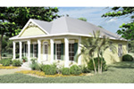 Waterfront House Plan Front Photo 01 - 028D-0025 | House Plans and More