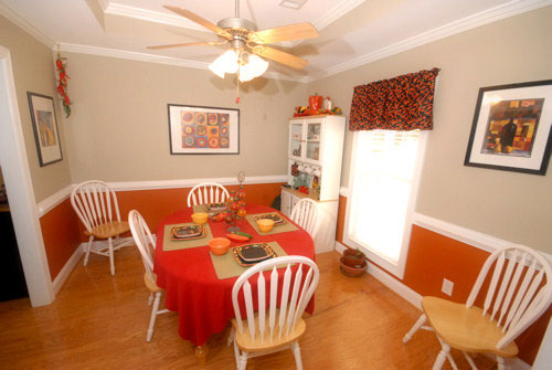 Farmhouse Plan Dining Room Photo 01 028D-0030