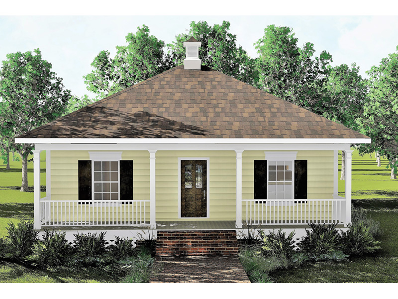 Southern House Plan Front Photo 01 - 028D-0032 | House Plans and More