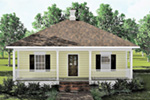 Ranch House Plan Front Photo 01 - 028D-0032 | House Plans and More