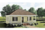Ranch House Plan Front Photo 02 - 028D-0032 | House Plans and More