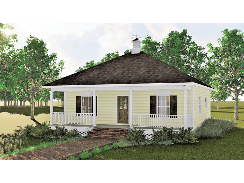 Ranch House Plan Front Photo 03 - 028D-0032 | House Plans and More
