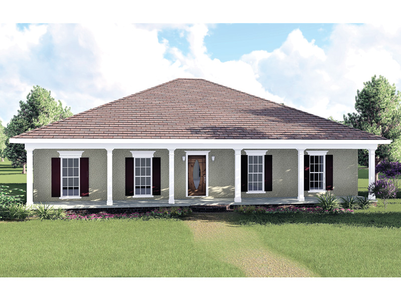 European House Plan Front Photo 01 - 028D-0035 | House Plans and More