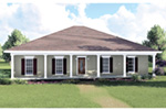 Southern House Plan Front Photo 01 - 028D-0035 | House Plans and More