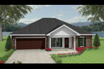 Neoclassical Home Plan Front Image - 028D-0037 | House Plans and More