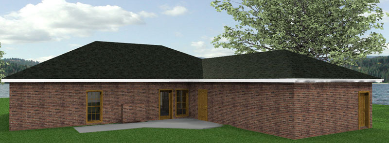 Southern House Plan Color Image of House - 028D-0041 | House Plans and More