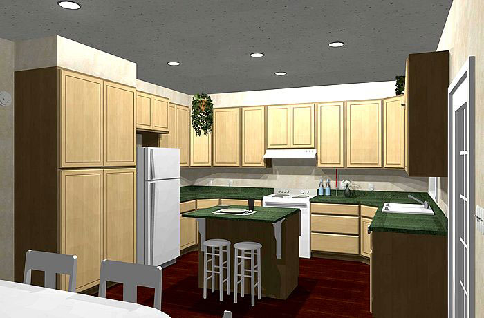 European House Plan Kitchen Photo 01 - 028D-0045 | House Plans and More