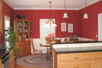 Cape Cod and New England Plan Dining Room Photo 01 - 028D-0054 | House Plans and More