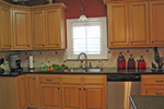 Cape Cod and New England Plan Kitchen Photo 02 - 028D-0054 | House Plans and More