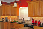 Colonial House Plan Kitchen Photo 03 - 028D-0054 | House Plans and More