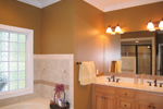 Colonial Floor Plan Master Bathroom Photo 02 - 028D-0054 | House Plans and More
