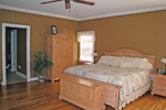 Colonial Floor Plan Master Bedroom Photo 01 - 028D-0054 | House Plans and More