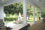 Colonial Floor Plan Porch Photo 02 - 028D-0054 | House Plans and More