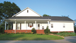 Farmhouse Home Plan Rear Photo 01 - 028D-0054 | House Plans and More