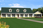 Sprawling Ranch With Decorative Dormers