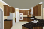 Neoclassical Home Plan Kitchen Photo 01 - 028D-0056 | House Plans and More