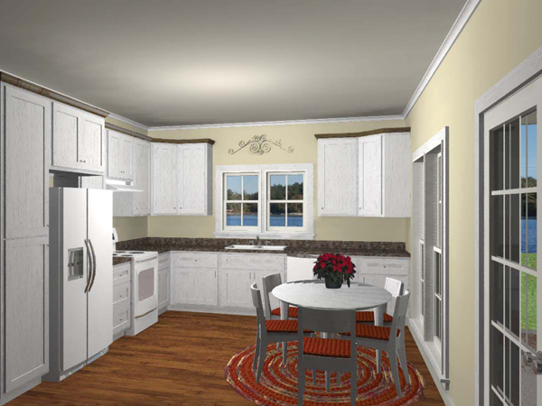 Cabin and Cottage Plan Kitchen Photo 01 028D-0065