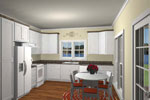 Waterfront Home Plan Kitchen Photo 01 - 028D-0065 | House Plans and More