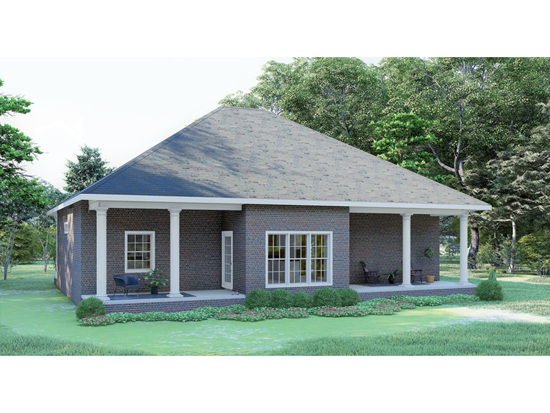 Country House Plan Rear Photo 01 - 028D-0067 | House Plans and More