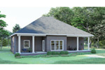 Southern House Plan Rear Photo 01 - 028D-0067 | House Plans and More