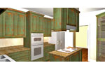 Ranch House Plan Kitchen Photo 01 - 028D-0072 | House Plans and More