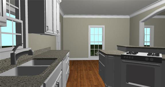 Country House Plan Kitchen Photo 04 - 028D-0074 | House Plans and More