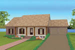 Country House Plan Front Photo 01 - 028D-0075 | House Plans and More