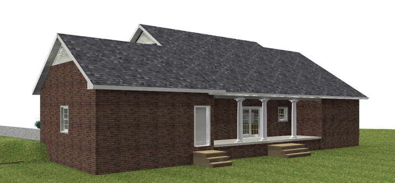 Country House Plan Color Image of House - 028D-0075 | House Plans and More