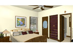 Ranch House Plan Master Bedroom Photo 01 - 028D-0077 | House Plans and More