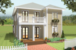 Farmhouse Has Colonial Style