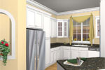 Southern Plantation Plan Kitchen Photo 01 - 028D-0078 | House Plans and More