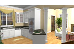 Neoclassical Home Plan Kitchen Photo 02 - 028D-0078 | House Plans and More