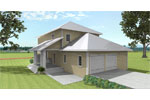 Farmhouse Plan Color Image of House - 028D-0078 | House Plans and More