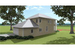 Southern Plantation Plan Rear Photo 03 - 028D-0078 | House Plans and More