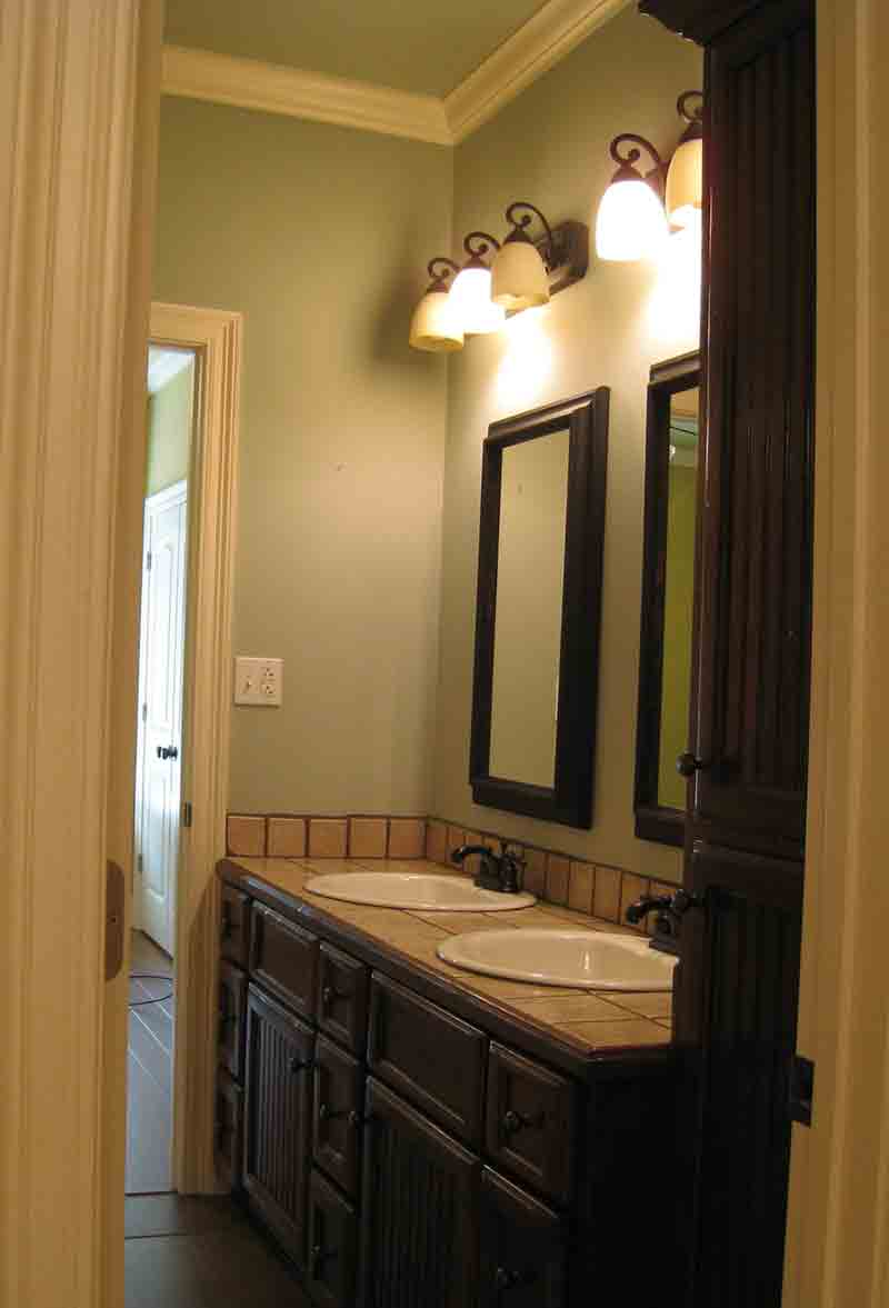 Tudor House Plan Bathroom Photo 02 - 028D-0080 | House Plans and More