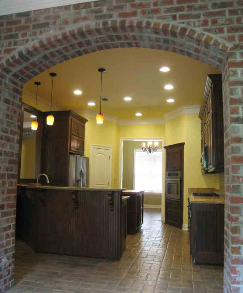 Traditional House Plan Kitchen Photo 01 - 028D-0080 | House Plans and More