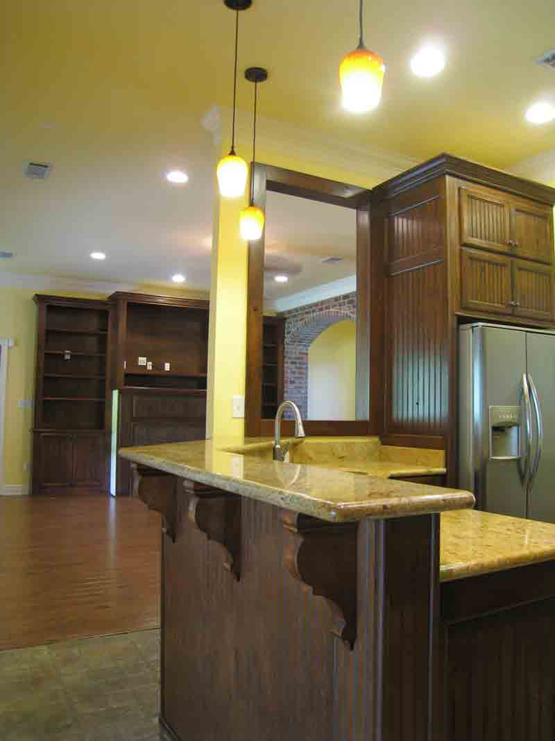 Tudor House Plan Kitchen Photo 04 - 028D-0080 | House Plans and More