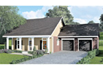 Ranch House Plan Front Photo 02 - 028D-0083 | House Plans and More